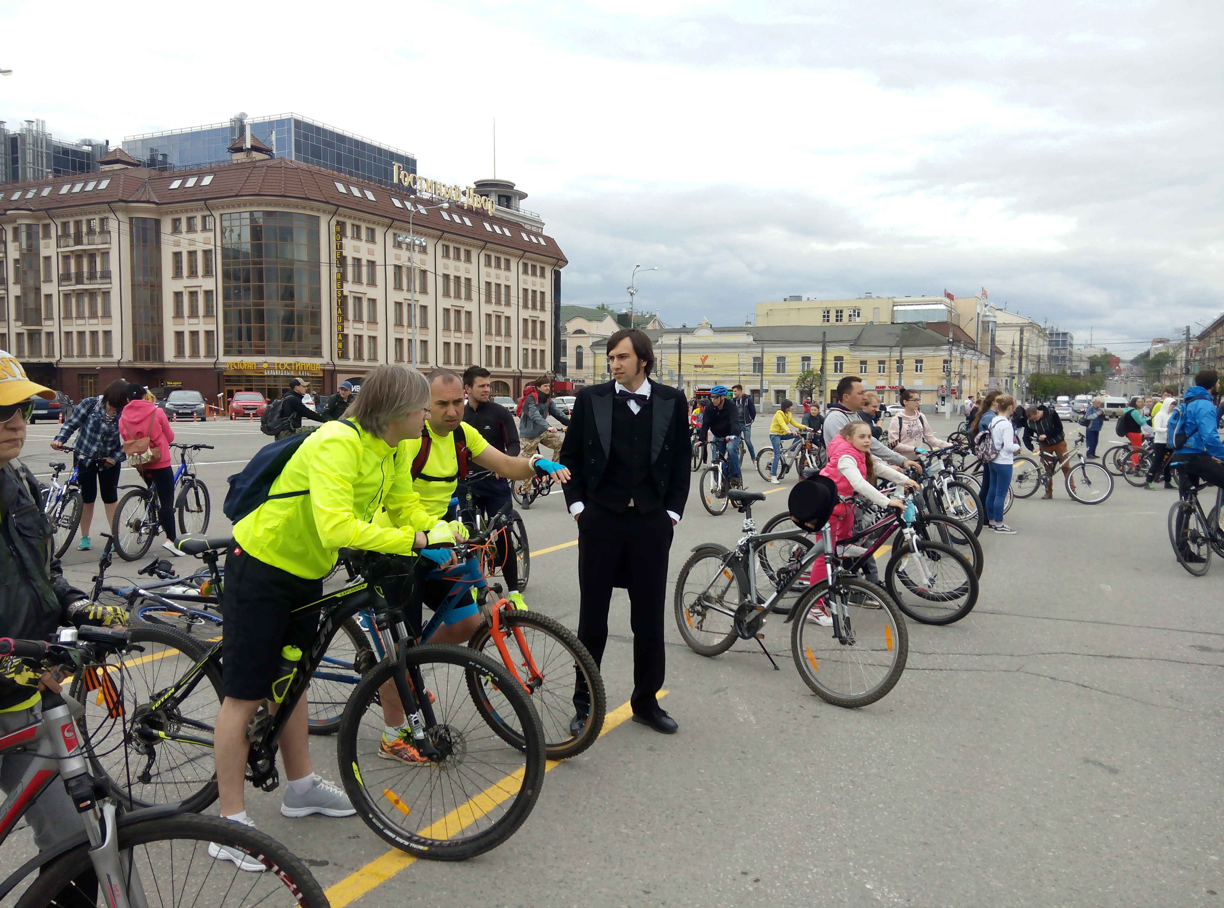 Большой велопарад в Туле! ФОТО