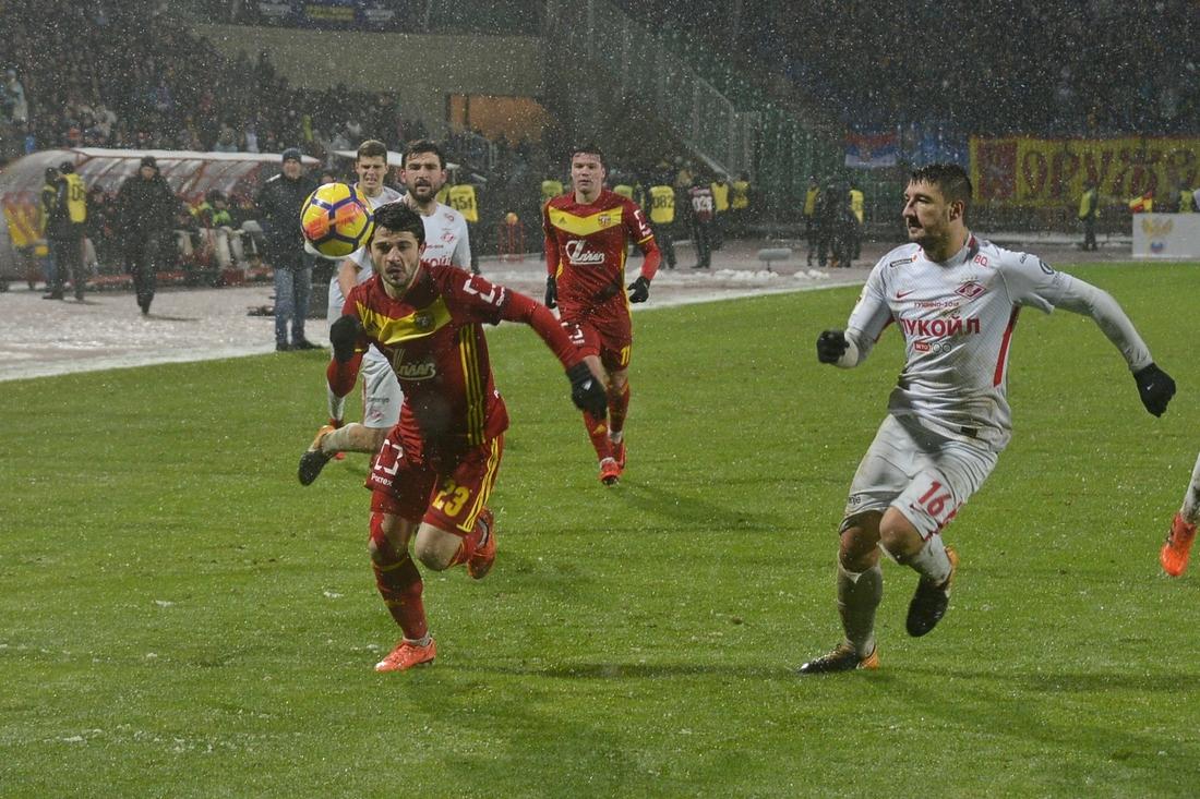 """""""Арсенал"""" уступил """"Спартаку"""" 0-1: ФОТО"""