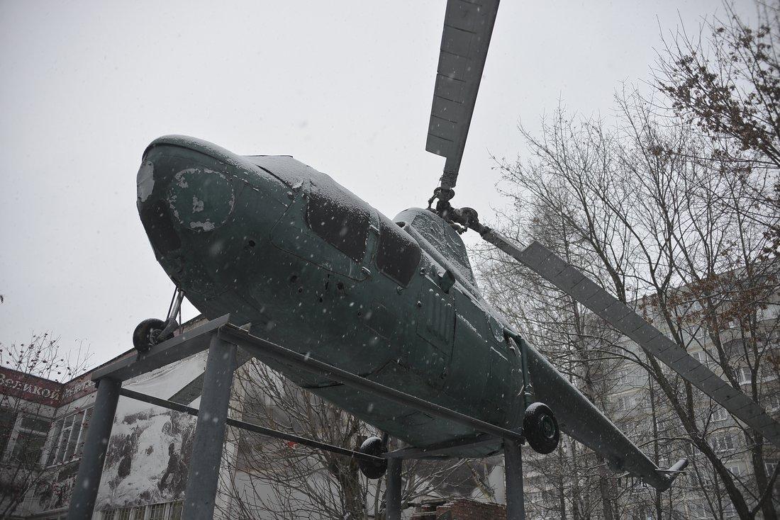 Бюст французского лётчика открыт в Туле: ФОТО