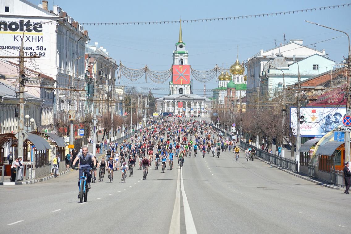 Велопарад 1 мая: ФОТО