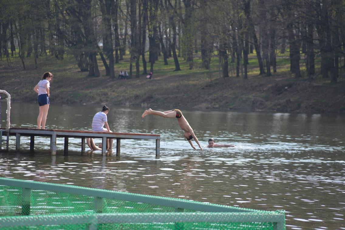 Первая жара в Туле: ФОТО