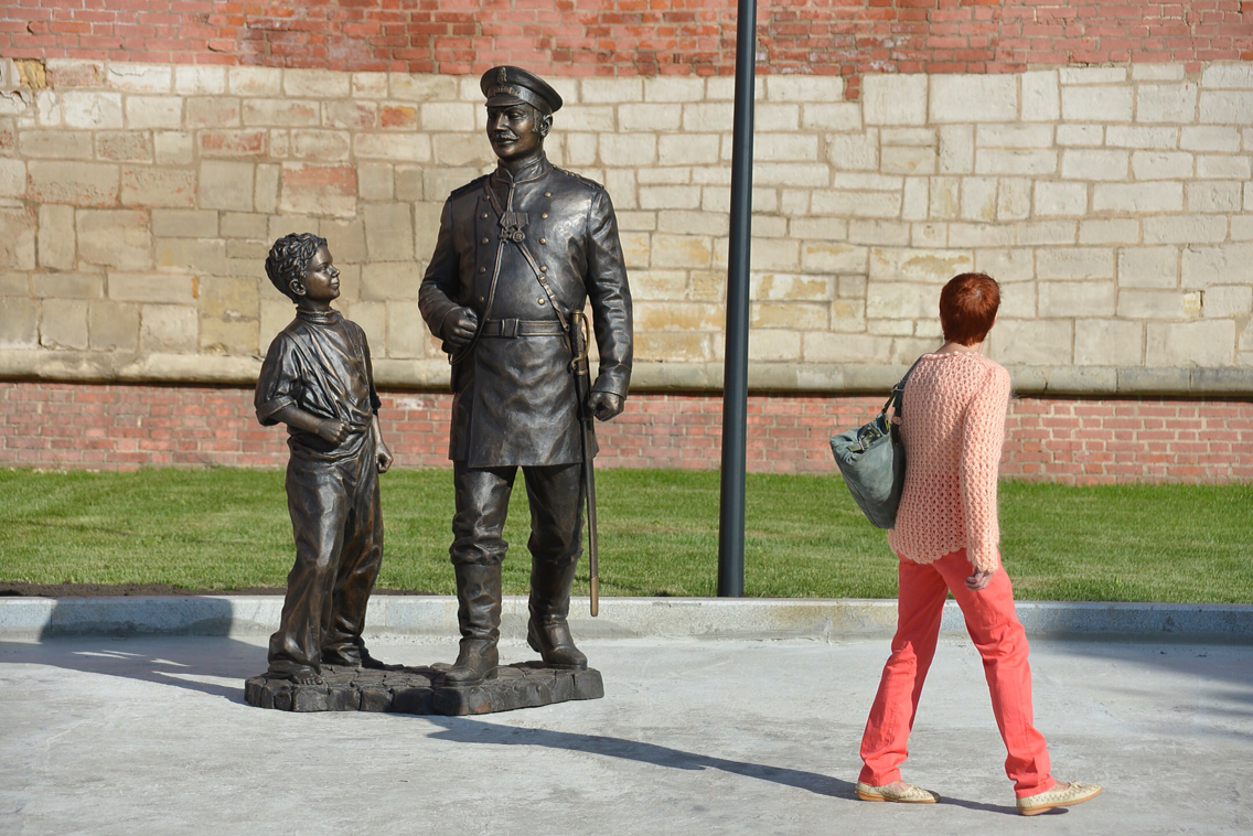 В Туле появился городовой: ФОТО