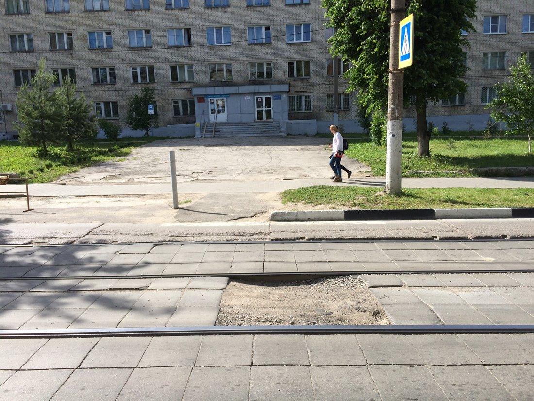 Текущее состояние дороги на Фридриха Энгельса: ФОТО