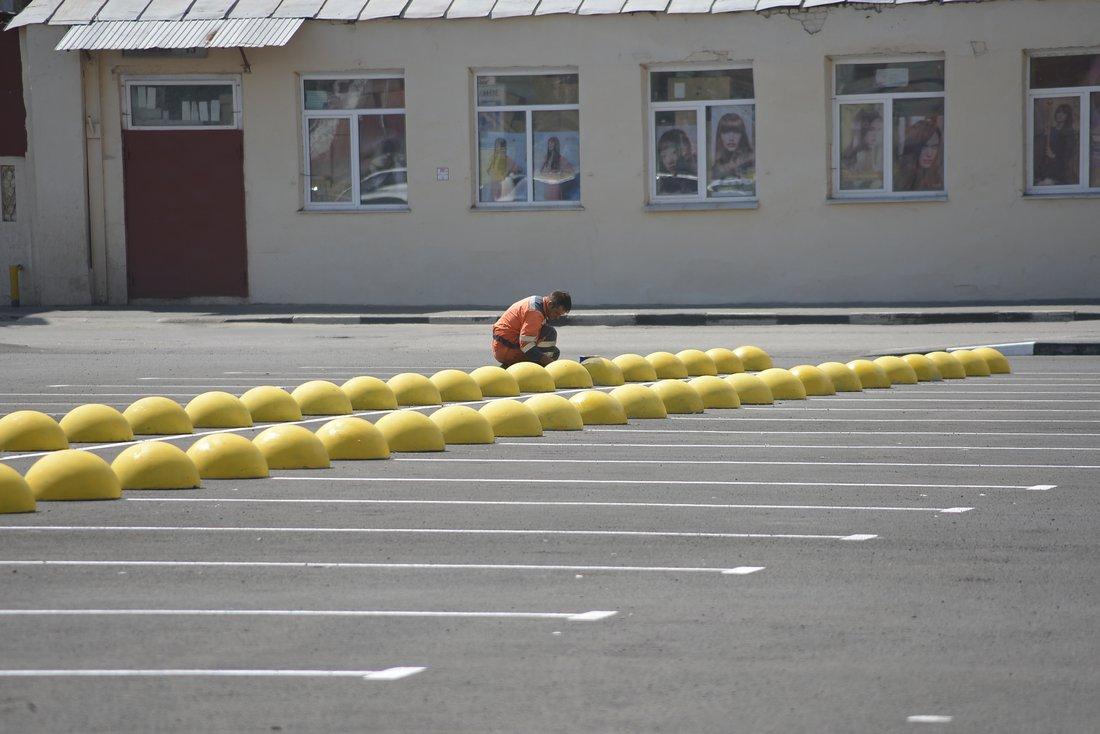 Автостоянка на Союзной открылась: ФОТО