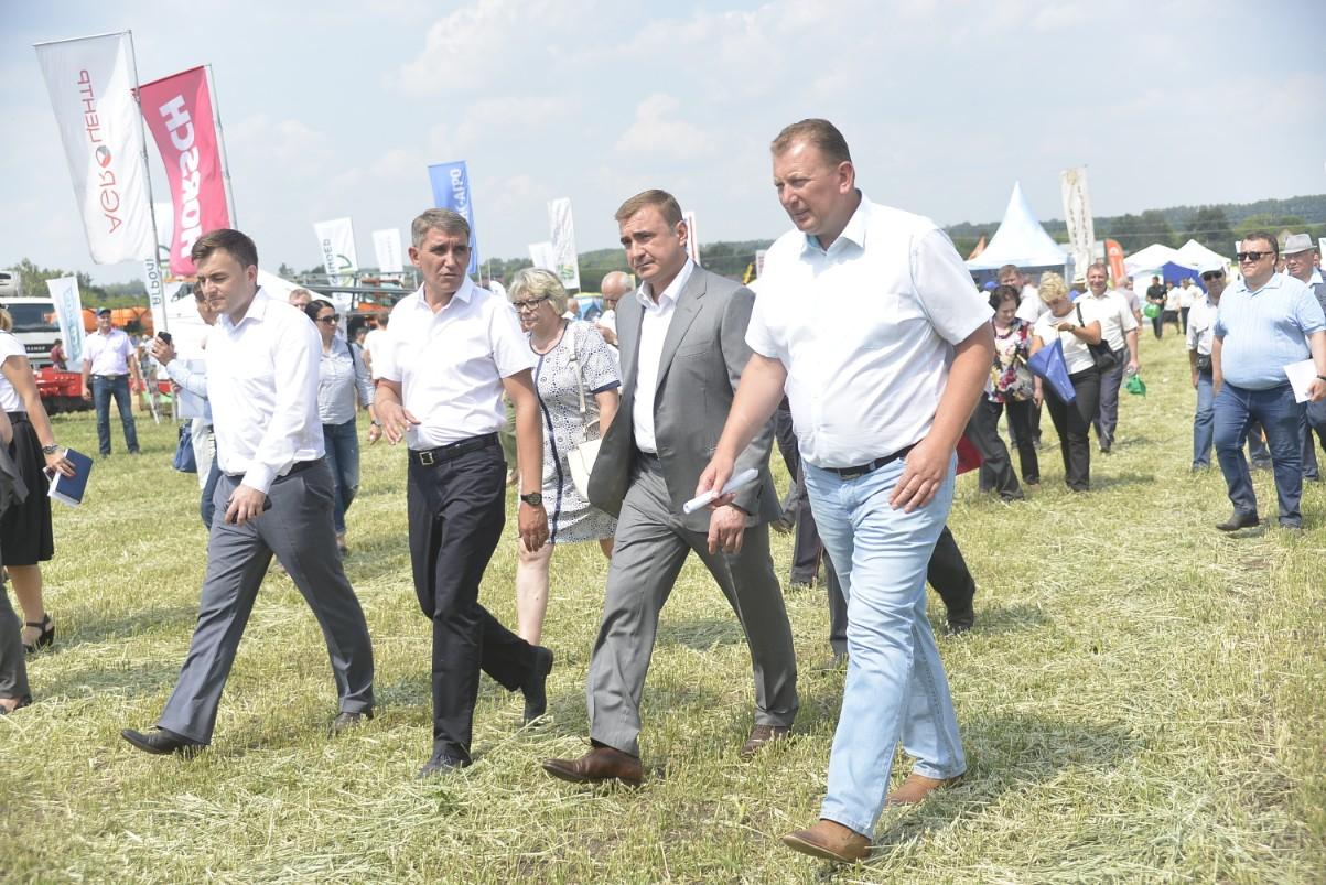 В Богородицком районе состоялся День поля: ФОТО