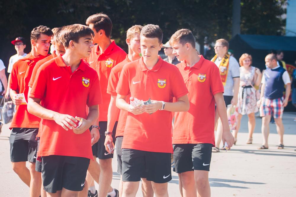 Первый матч сезона: «Арсенал» - «Динамо». ФОТО
