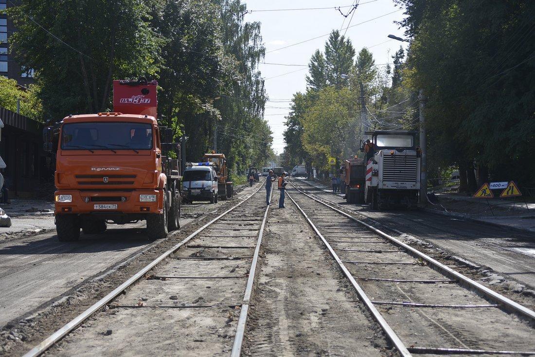 Ремонт дороги на Руднева: ФОТО