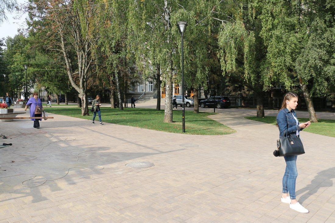 """Сквер """"Студенческий"""": ФОТО"""