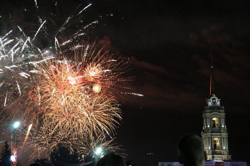 Салют в День города Тулы 2018. ФОТО