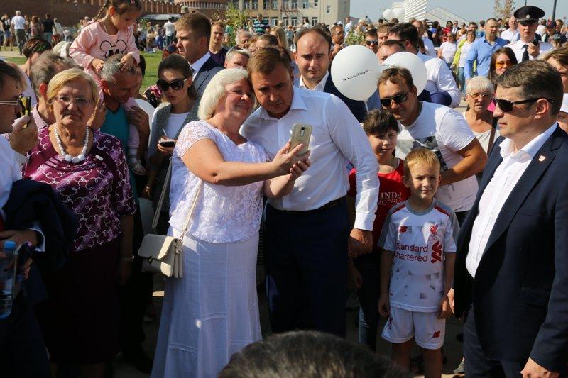 Открытие Тульской набережной. ФОТО