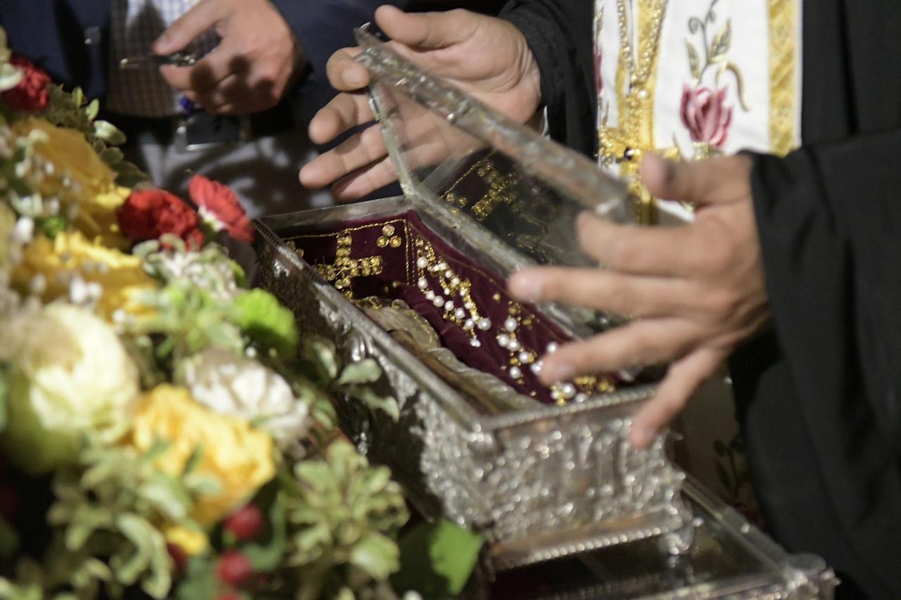 Мощи Святителя Спиридона Тримифунтского прибыли в Тулу. ФОТО