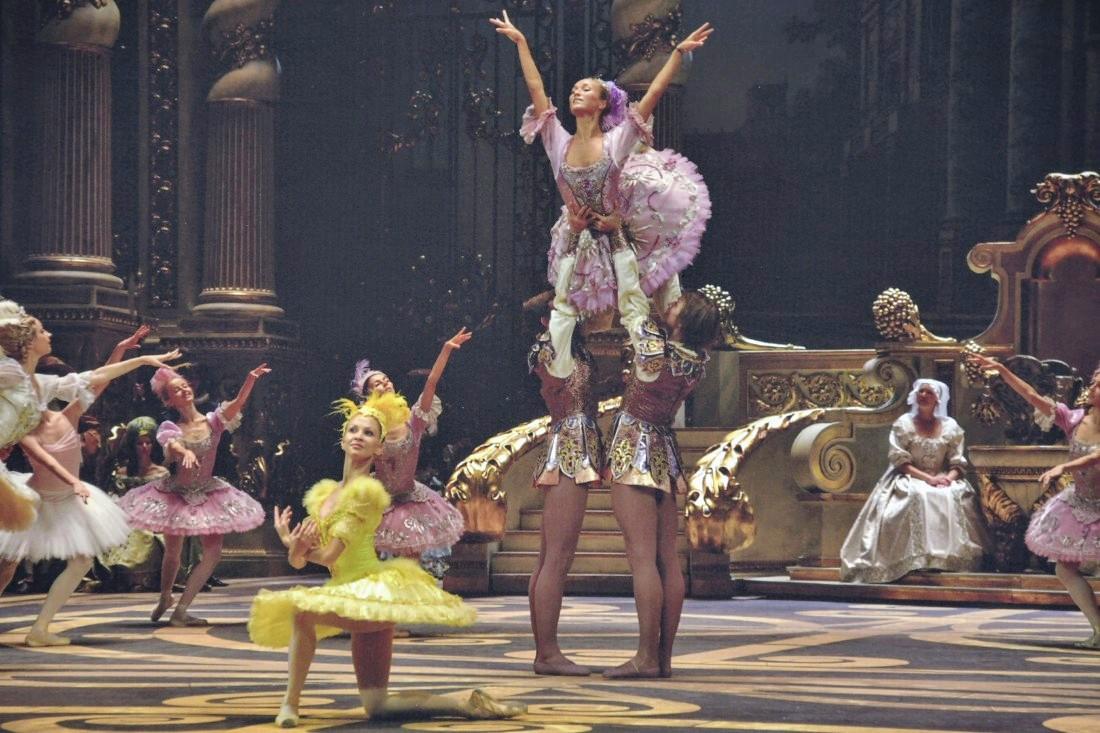 Мгновения русского балета в Центральном парке: ФОТО