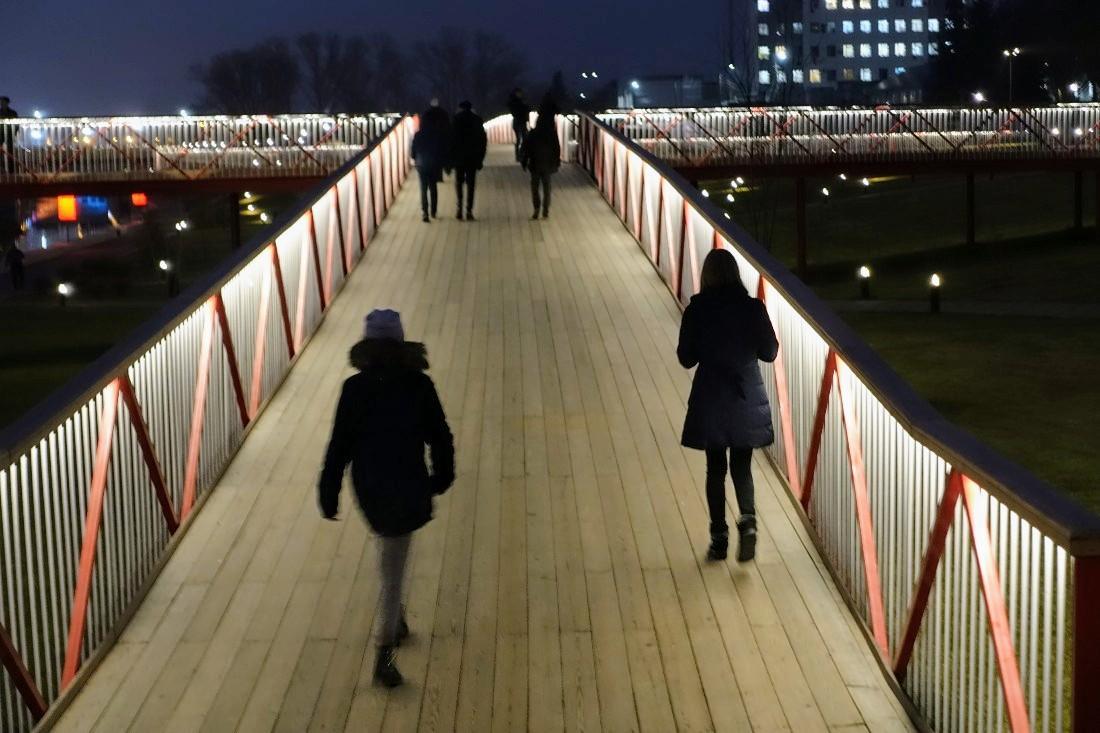 Вечер на Казанской набережной: ФОТО