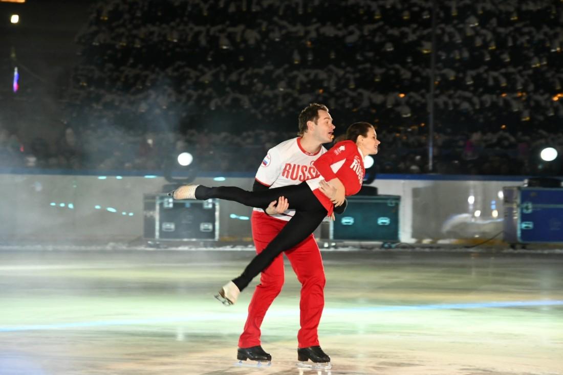 Ледовое шоу: ФОТО