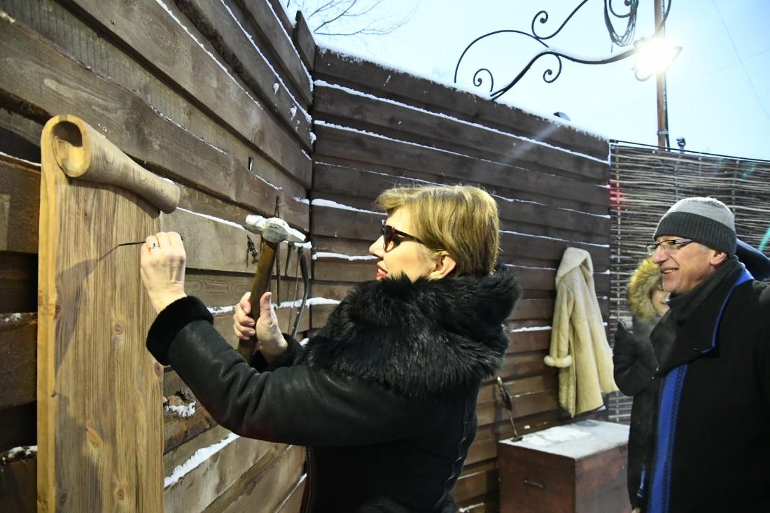 Открытие резиденции Левши: ФОТО