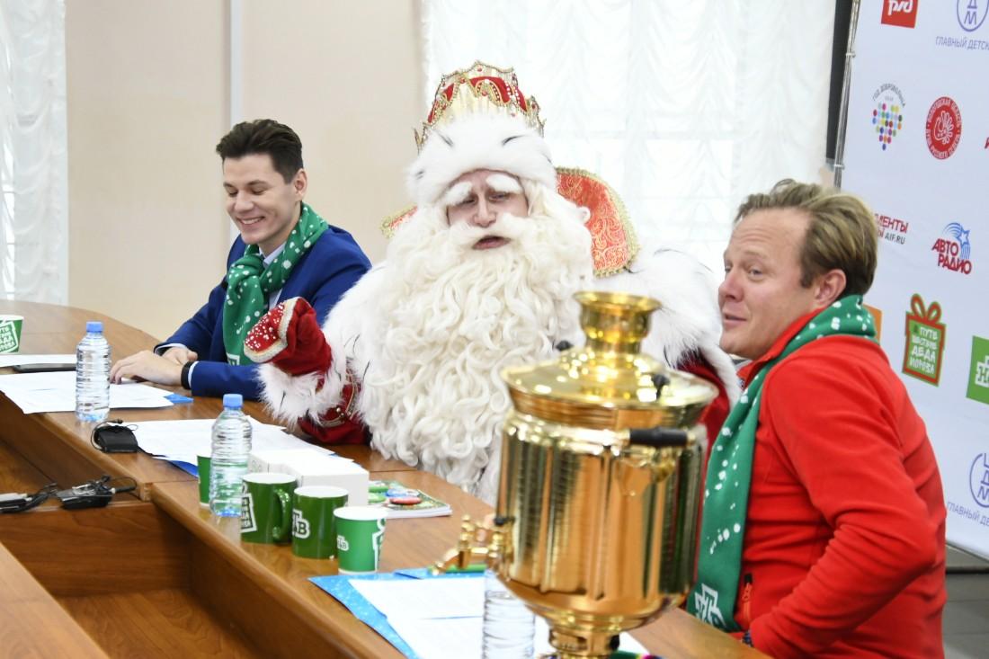 Пресс-конференция с Дедом Морозом из Великого Устюга: ФОТО