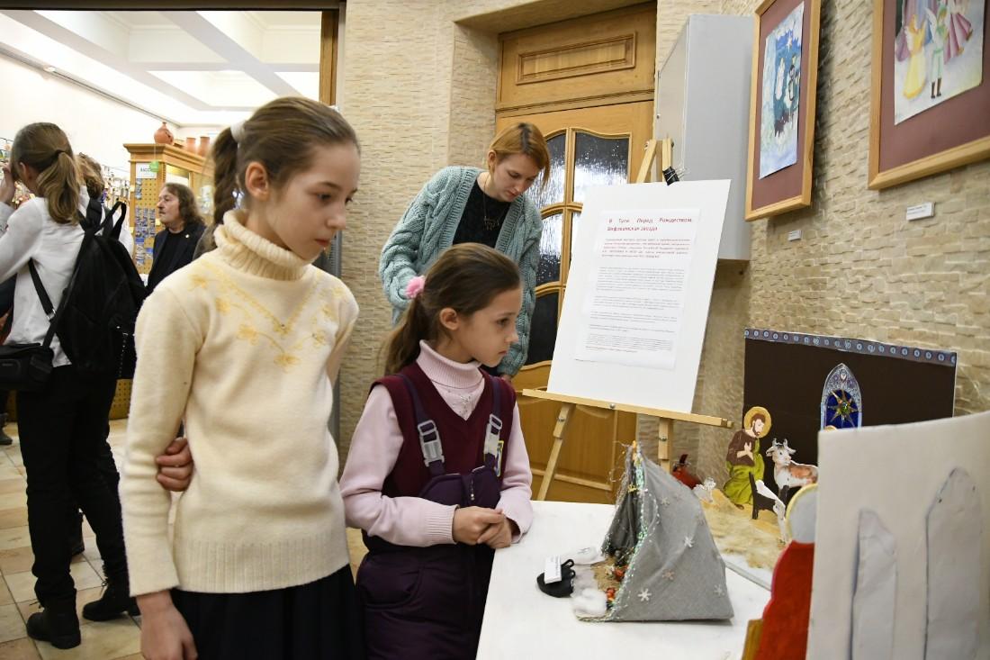 """Открытие выставки """"Рождественская история"""": ФОТО"""
