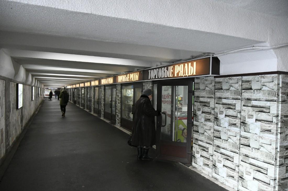 В подземном переходе на Советской установили световые пано: ФОТО