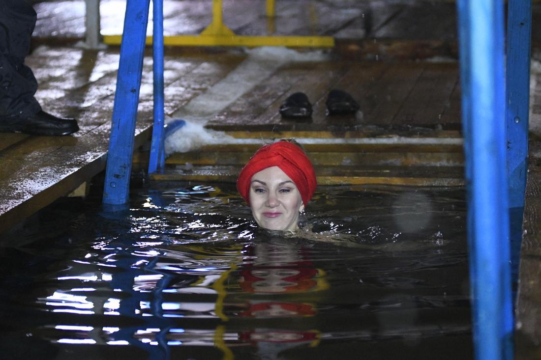 Крещенское купание туляков: ФОТО