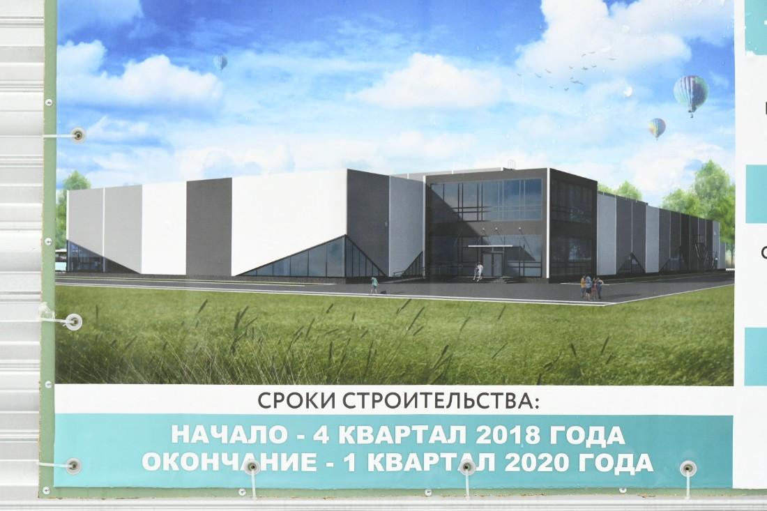 "На стадионе ""Штамп"" будет ледовая арена: ФОТО"