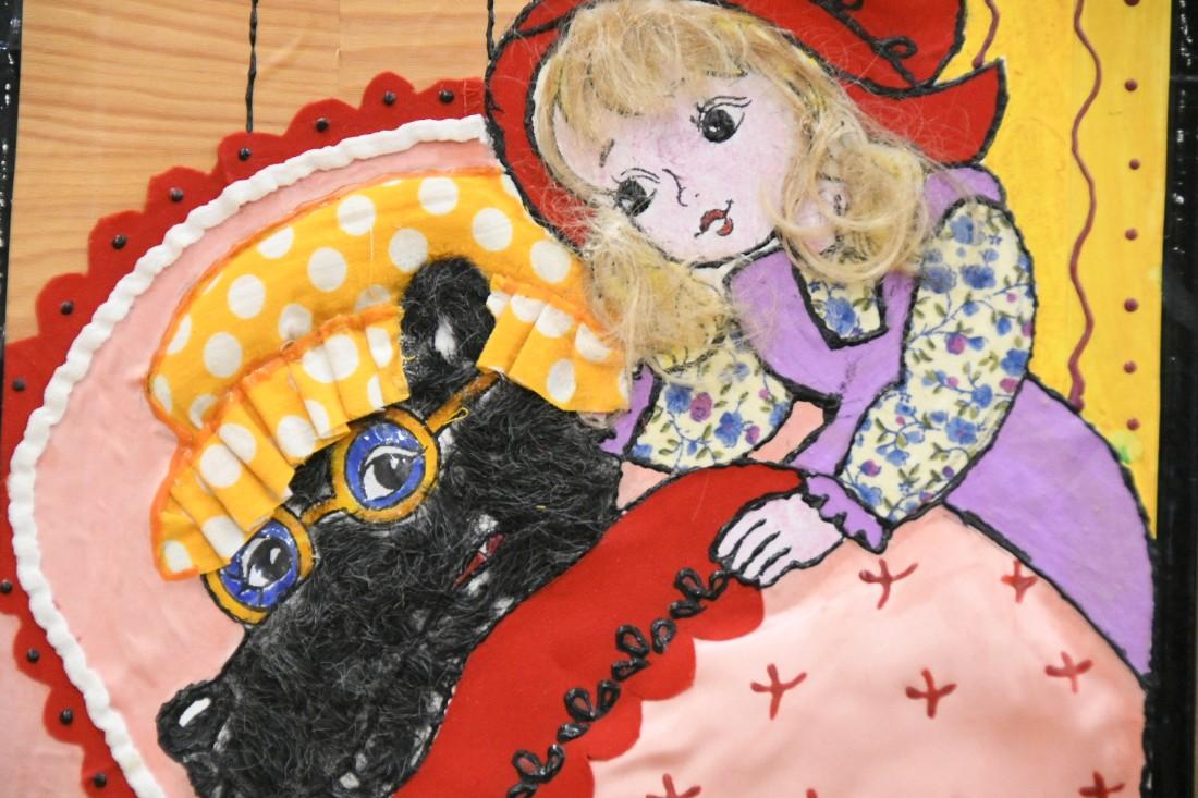 """""""В одно касание"""", выставка творчества слабовидящих детей: ФОТО"""