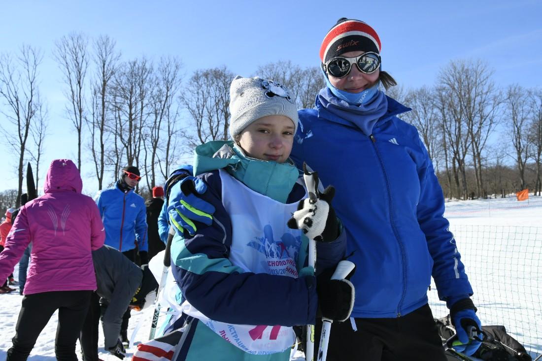 Яснополянская лыжня: ФОТО
