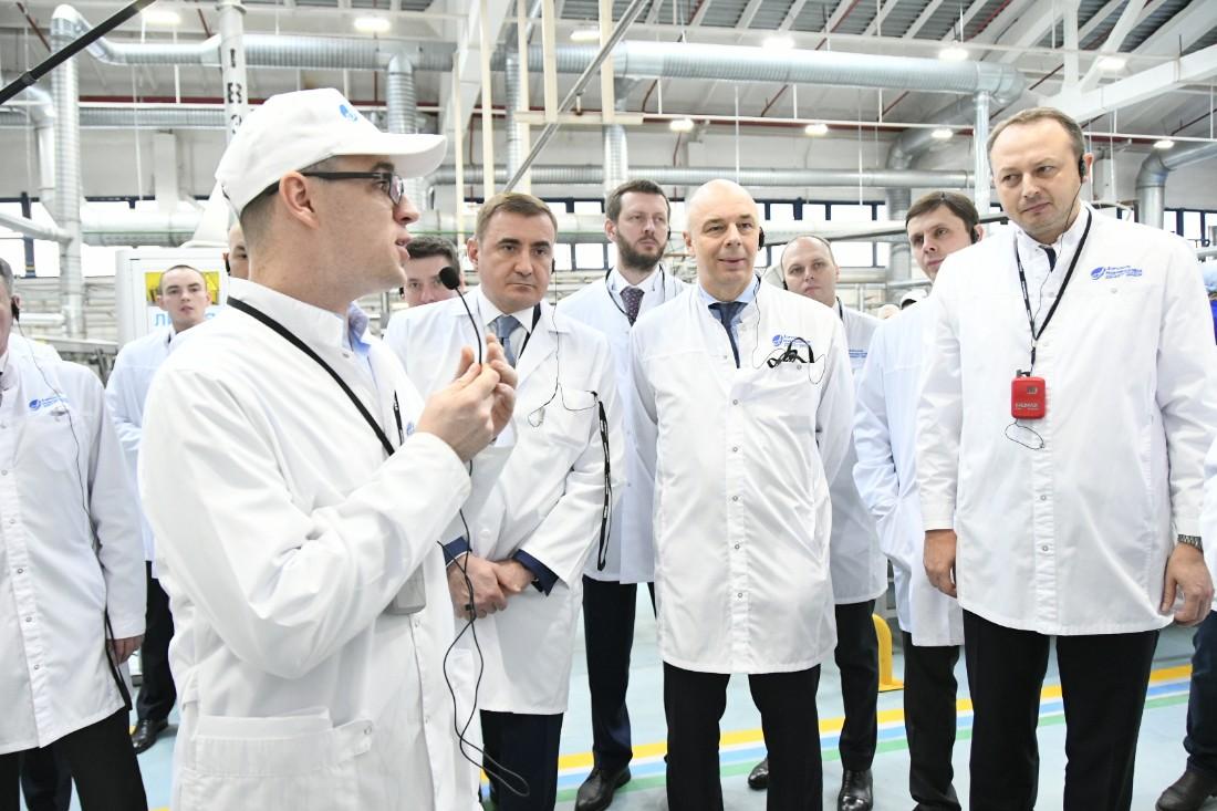Визит Антона Силуанова в Новомосковск: ФОТО