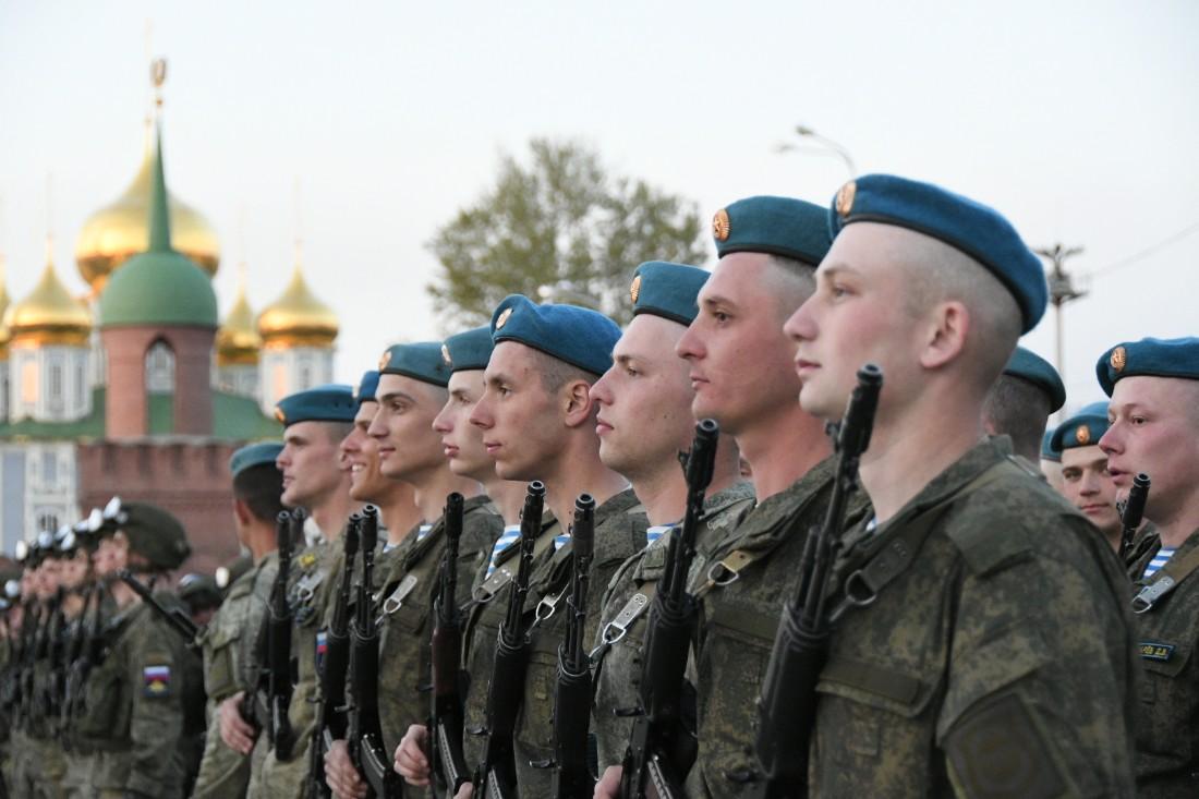 Репетиция парада Победы: ФОТО