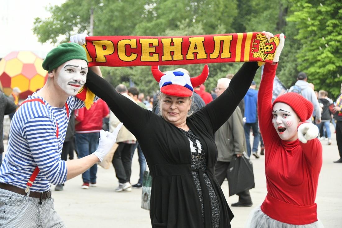 """""""Арсенал"""" - """"Урал"""": 2 - 2:ФОТО"""