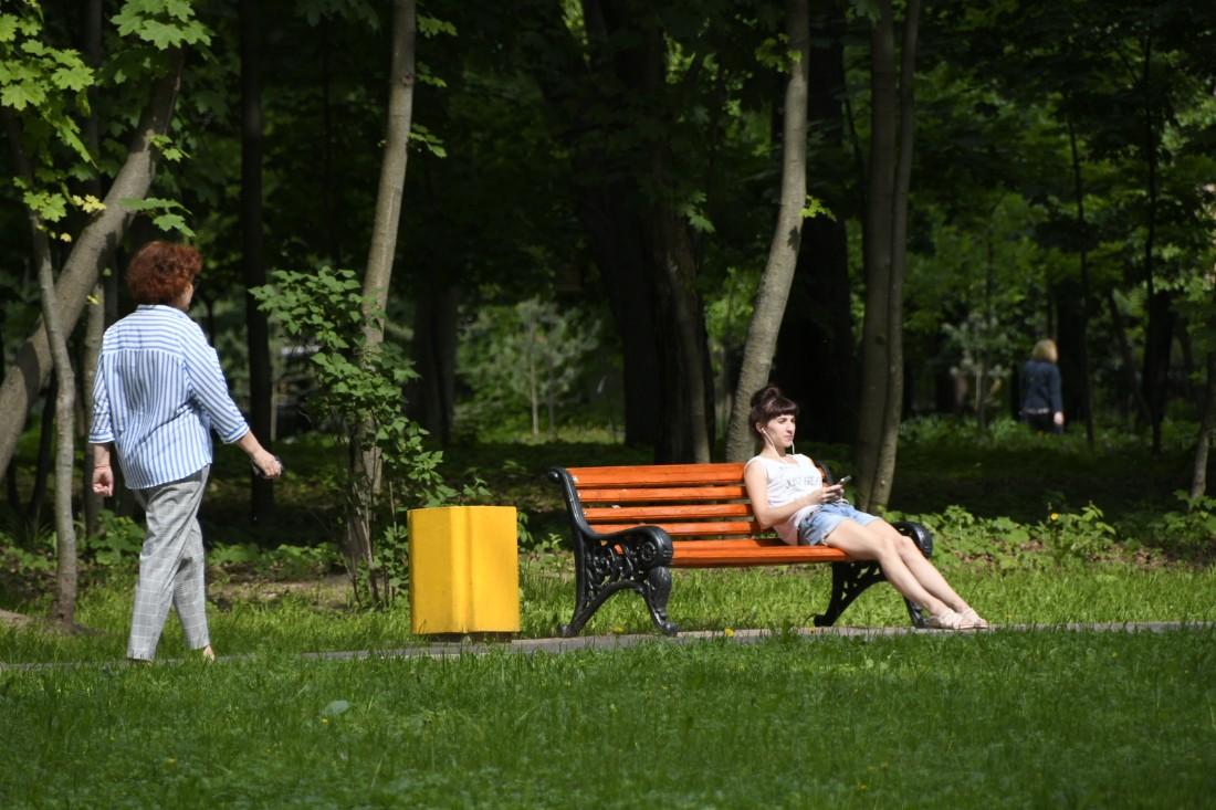Благоустройство Рогожинского парка: ФОТО