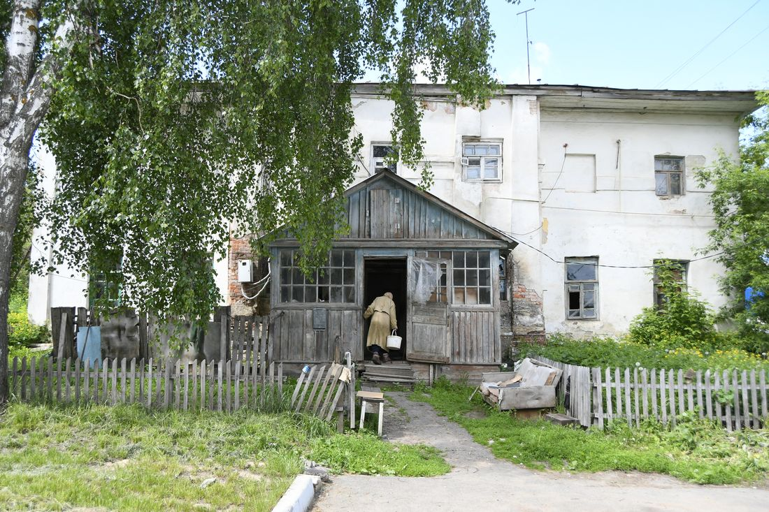 Усадьбу Мосоловых реставрируют: ФОТО