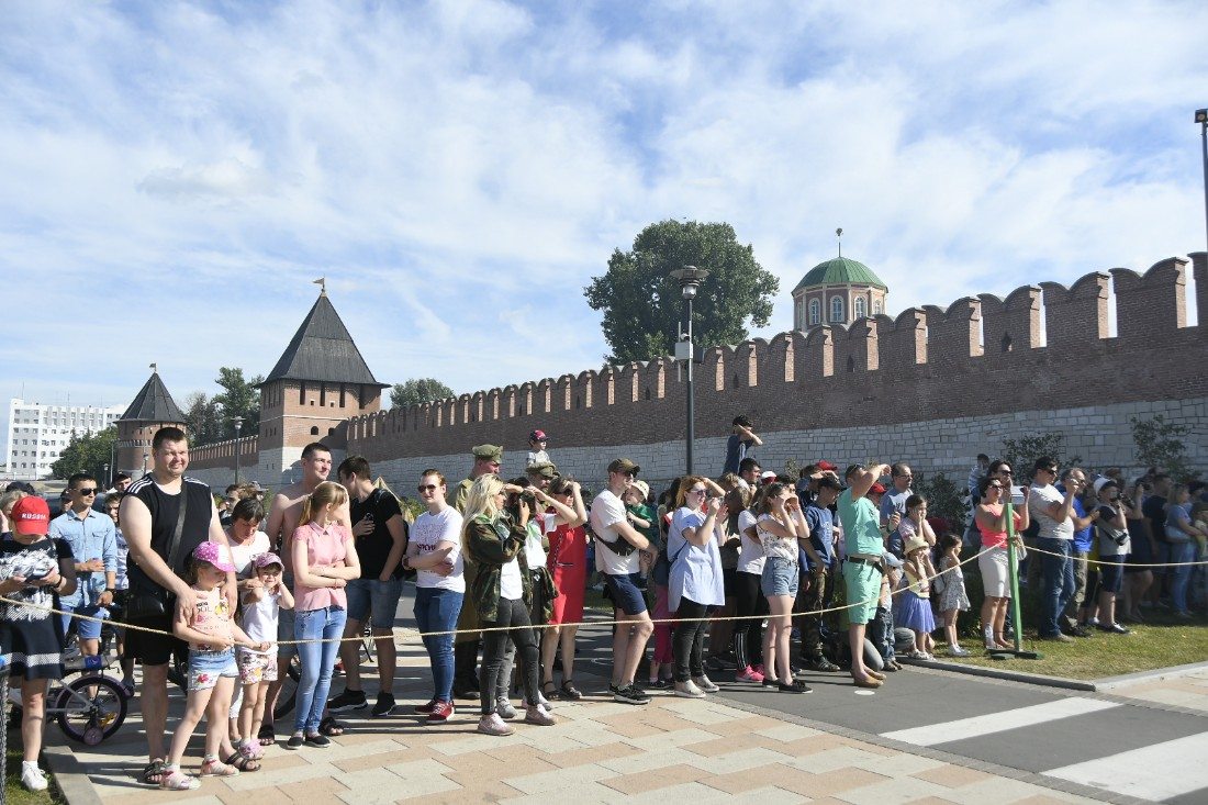 Реконструкция осады кремля: ФОТО