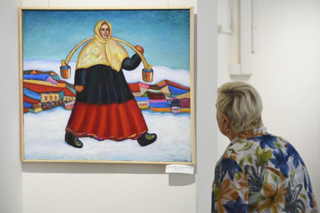 Выставка Бориса Смотрова: ФОТО