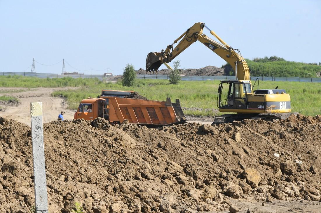 Возобновление строек новых микрорайонов: ФОТО