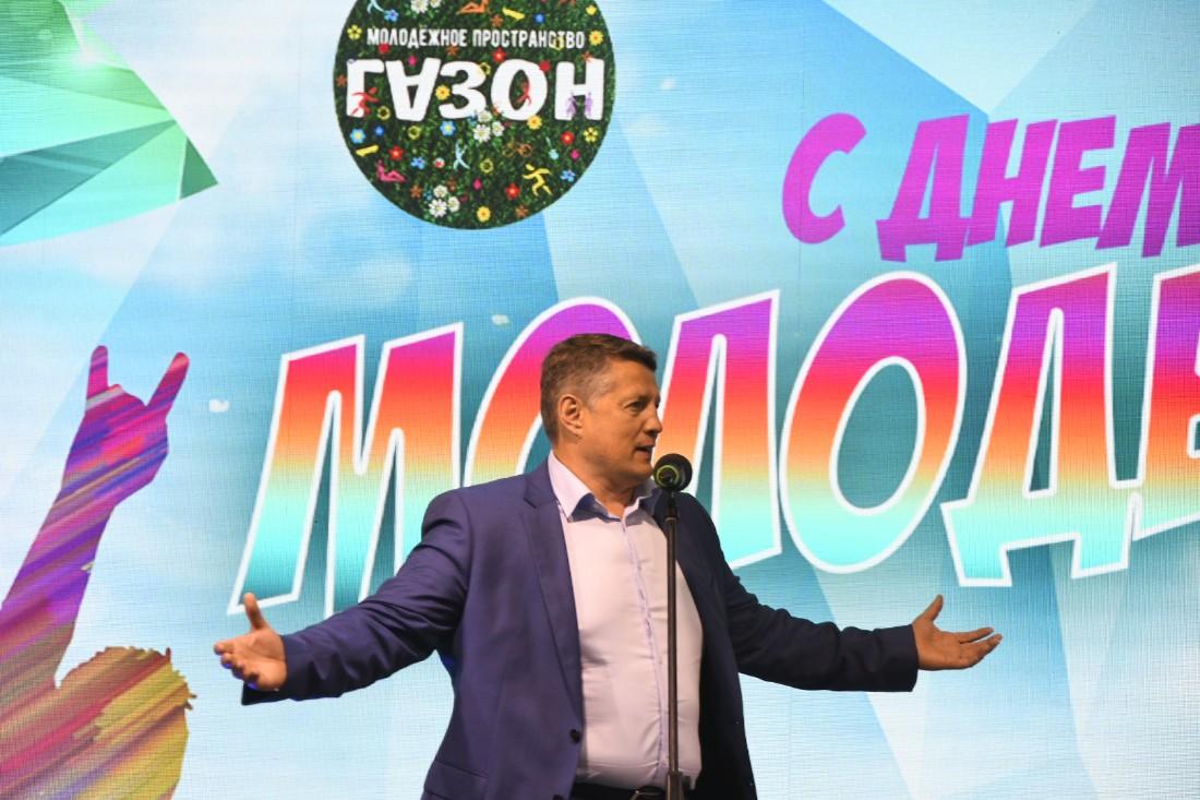 """Открытие пространства """"ГАЗОН"""": ФОТО"""