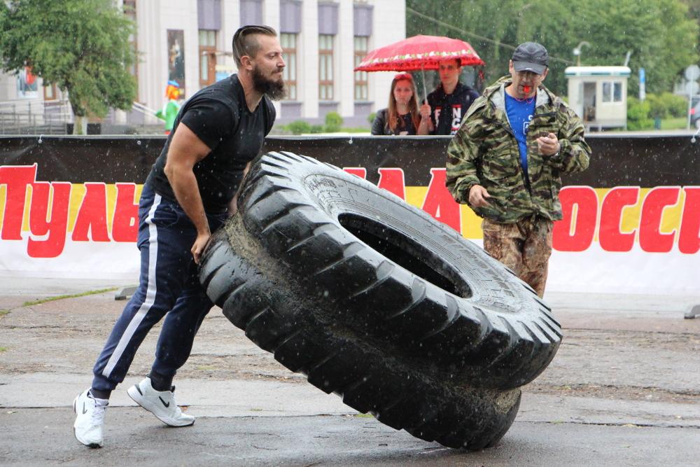 Молодецкая сила Тулы. Фоторепортаж