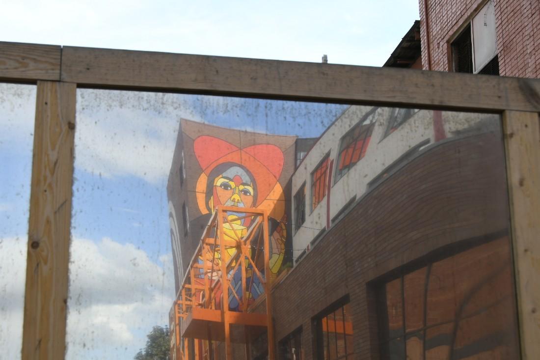 Новое граффити на Октаве: ФОТО