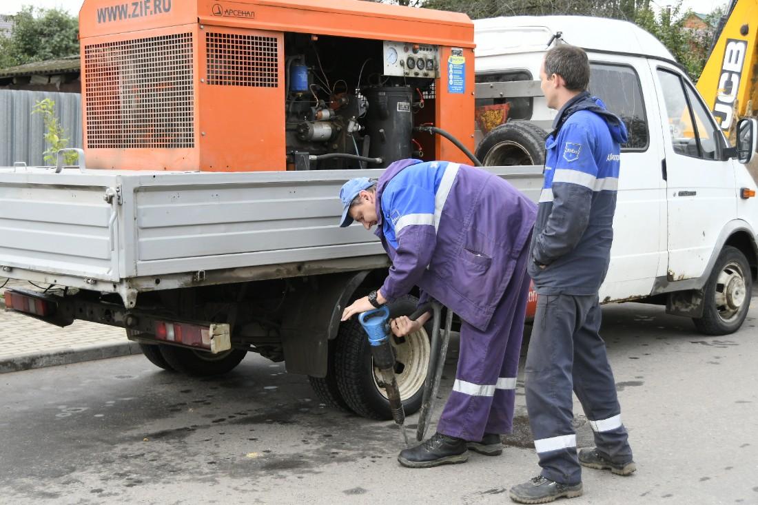 Отключение от газа должника в Мясново