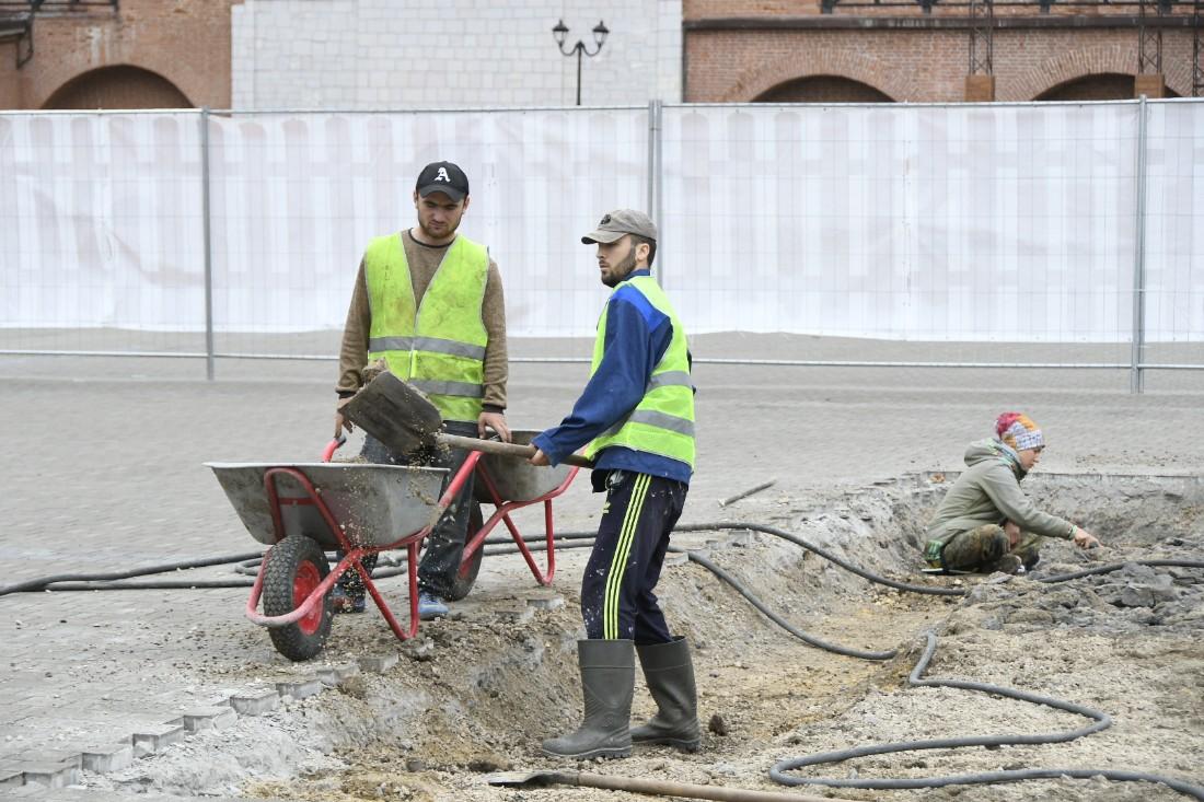Раскопки в Тульском кремле: ФОТО