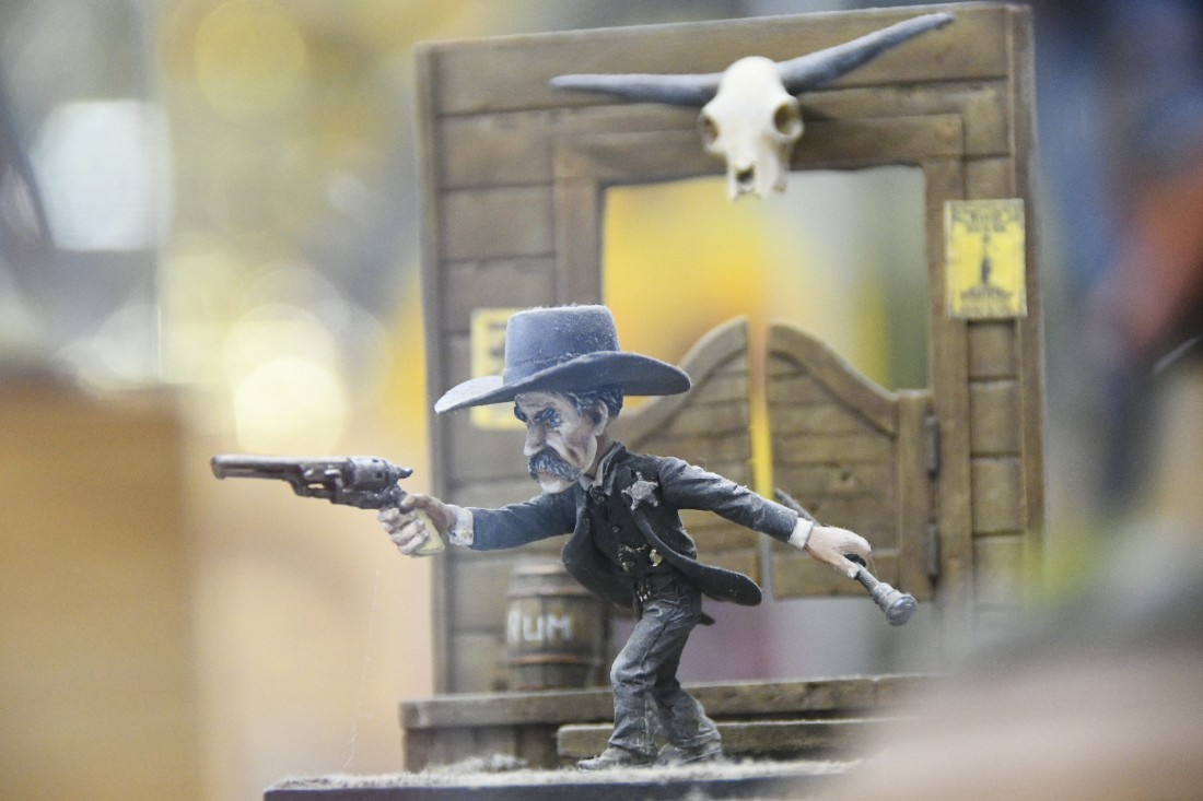 Выставка история в миниатюре: ФОТО