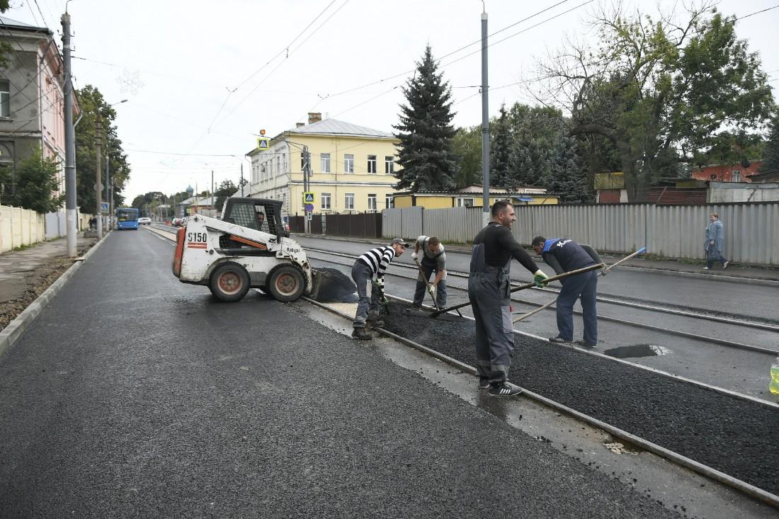 Третья очередь ремонта Оборонной: ФОТО