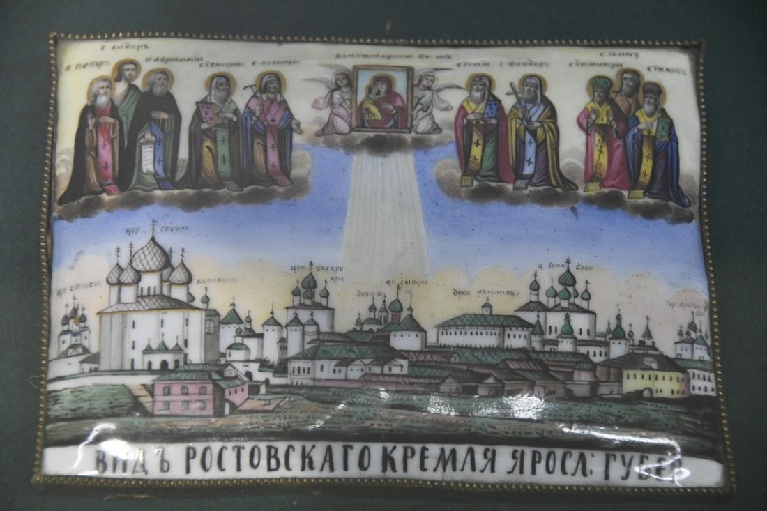 Ростовская финифть: ФОТО