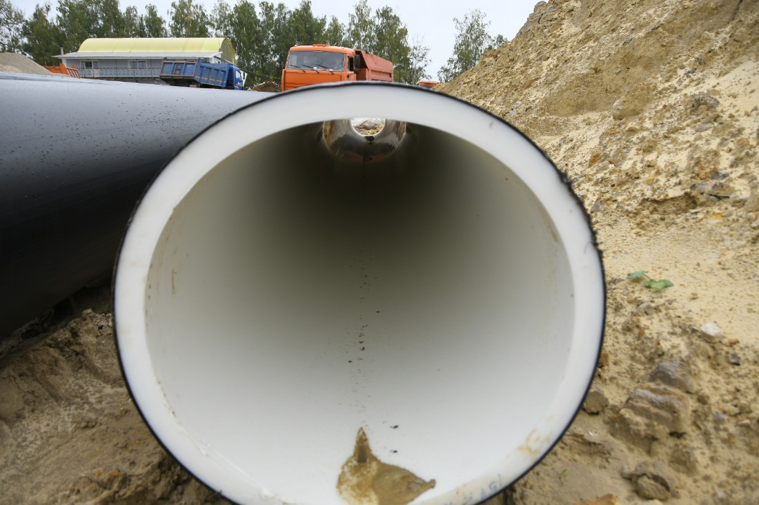 Ремонтные работы на Медвенско-Осетровском водозаборе: ФОТО