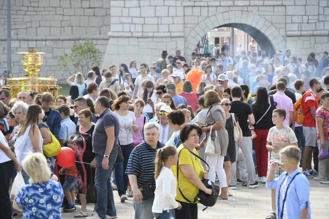 Гуляния на День города: ФОТО