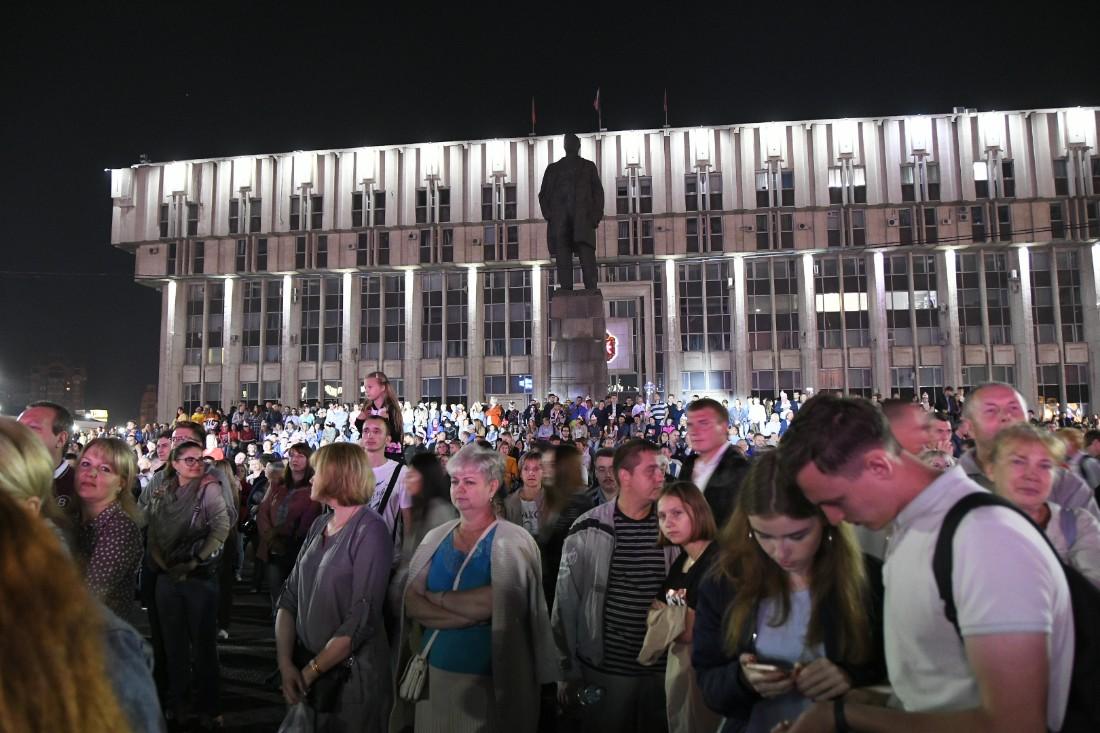 Фейерверк в День города: ФОТО