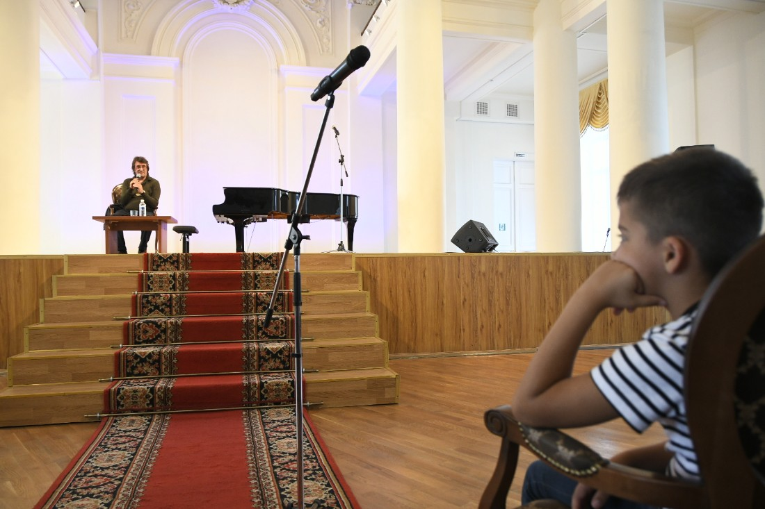 Творческая встреча и мастер-класс Юрия Башмета: ФОТО
