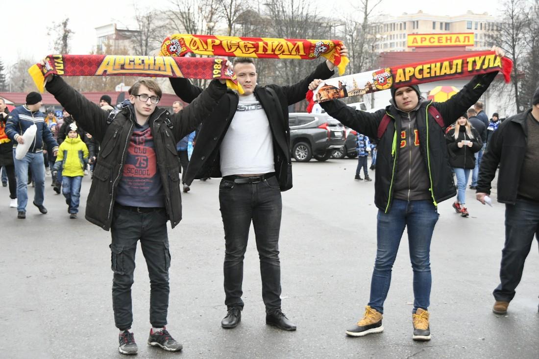 """""""Арсенал"""" - """"Зенит"""": ФОТО"""