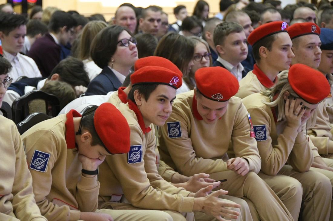 Вступление в юноармейцы: ФОТО