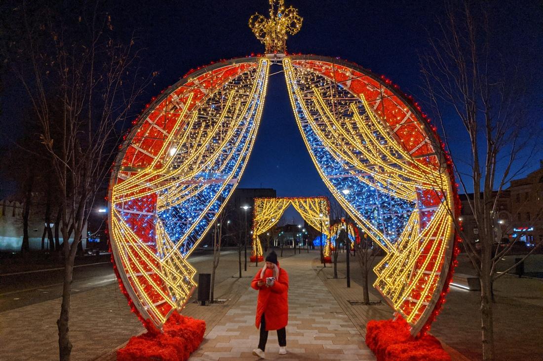 Тулу украшают к Новому году: ФОТО